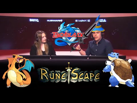 Machine and Pansy talk Runescape, Pokemon, Beyblades and more!