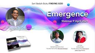 Webinar Seri Bedah Buku FINDING GOD: EMERGENCE