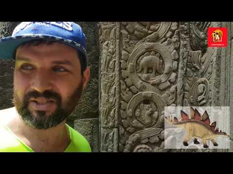 Стегозавр в Камбодже: запрещенный артефакт