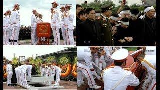 Toàn c/ả/nh Lễ h/ạ qu/a/n  CTN Trần Đại Quang tại quê nhà Ninh Bình