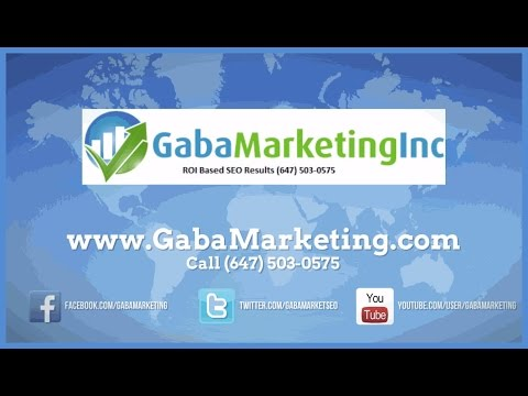 Mississauga Seo Expert | 647-503-0575 | Gaba Marketing | Best Seo Services Mississauga