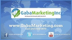 Mississauga Seo Expert | 647-503-0575 | Gaba Marketing | Best Seo Services Mississauga