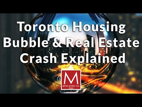 Toronto Housing Bubble & Real Estate Crash in 2017 Explained | Toronto Real Estate Crises Report