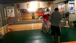 Rick vs Pink Boxing at Frank Rodriguez Boxing Club 1 of 2
