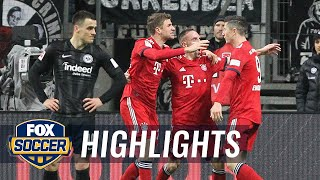 Franck Ribery breaks deadlock against Eintracht Frankfurt | 2018-19 Bundesliga Highlights