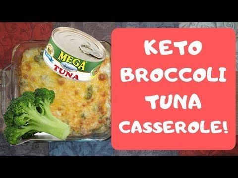 KETO Broccoli Tuna Casserole   Under $2 Per Serving!