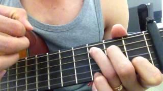 Hướng dẫn guitar Phố xa   bản Thế Mạnh
