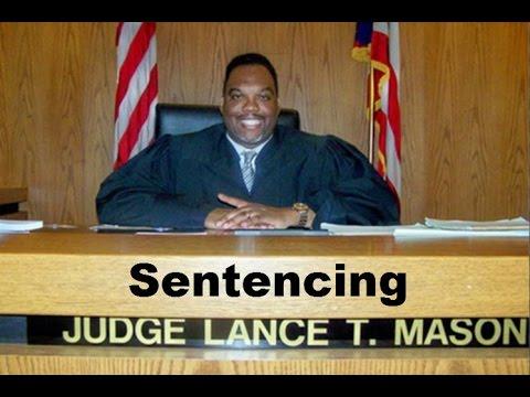 Judge Lance Mason Sentencing 09/16/15