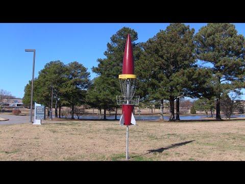 UAH University Of Alabama Huntsville DGC Disc Golf Doubles 25+ MPH Winds Dec 2019
