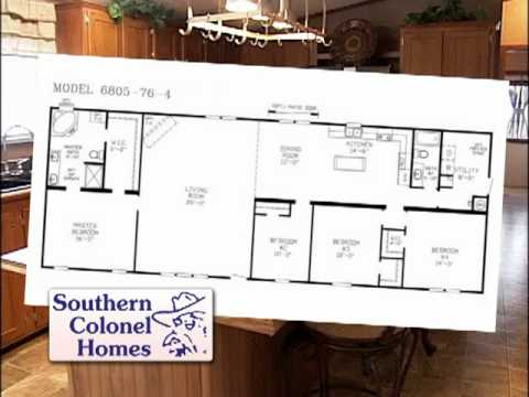 Whlt southern colonel homes football plan youtube for Colonel homes