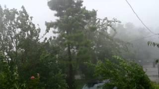 b derbent maşukiye de fırtına ve şiddetli yağmur