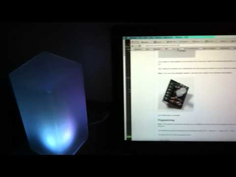 Digispark USB Mood Lamp that Sleeps When the Computer Does