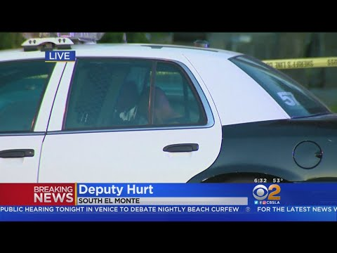 Deputy Hurt While Serving Warrant In South El Monte