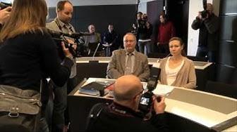 Anneli Auer Turun käräjäoikeudessa