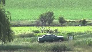 Tannerite blows up car
