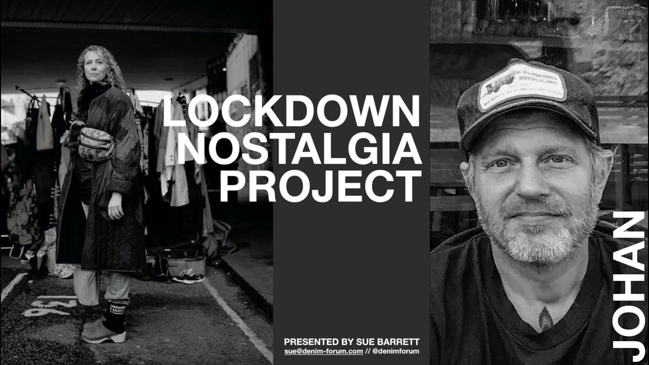 Sue Barrett's Lockdown Nostalgia Project - JOHAN