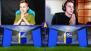 2 ŚWIETNE TOTSY ULTIMATE W PACK AND PLAY! ADRYAN VS DAVCZO | FIFA 18