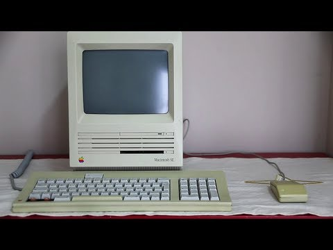 Apple Macintosh SE Startup with HD Sound