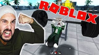 1 LAUCH IS PUMPEN! FIGHT IN THE MUCKI-BUDE! Roblox Fitness Studio Simulator