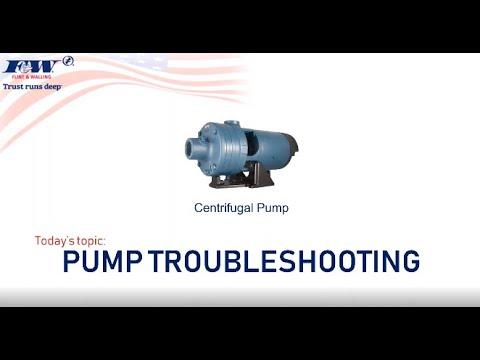 Centrifugal Pump Repair & Troubleshooting