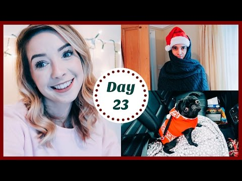 DRIVING HOME FOR CHRISTMAS | VLOGMAS