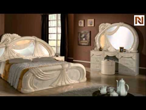 Gina Made In Italy White 5 Pieces Bedroom Set Vgaccgina Beige From Vig Furniture Youtube