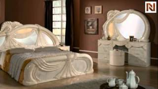 Gina - Made In Italy White 5 Pieces Bedroom Set  Vgaccgina-beige From Vig Furniture