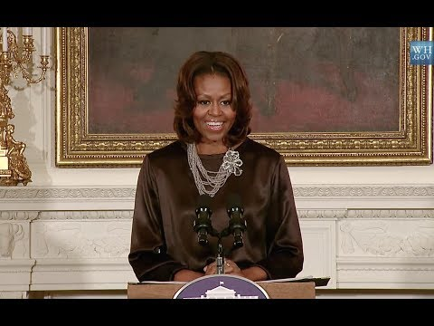 The First Lady Michelle Obama Discuss THE INEVITABLE DEFEAT OF MISTER & PETE @ The White House