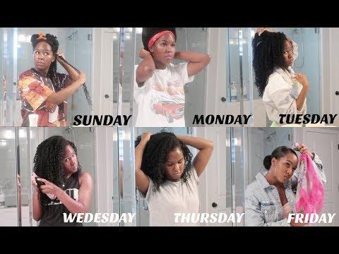 Kelsey's Weekly Curly Hair Routine!