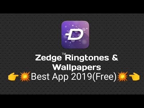 💥💥👉Zedge Ringtones & Wallpapers App 2019 Free Must Watch👈💥💥 Apps GO