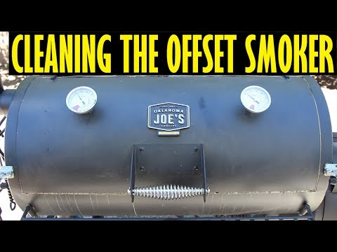 Cleaning The Oklahoma Joe's Highland Offset Smoker