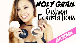 MY HOLY GRAIL KOREAN CUSHION FOUNDATIONS   5 Best Affordable Cushion Review