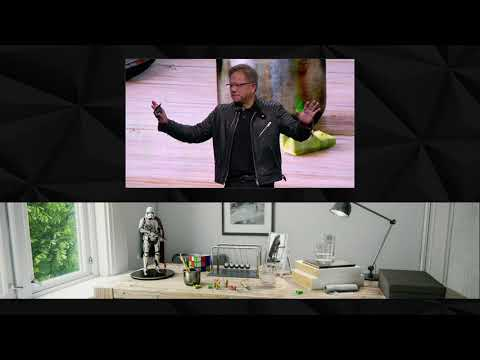 GTC 2018 Keynote with NVIDIA CEO Jensen Huang
