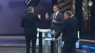 """Ведущий программы """"60 минут"""" выгнал из студии украинского эксперта"""
