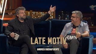 LATE MOTIV - Raúl Cimas. La vida inventada de Florentino Fernández I #LateMotiv580