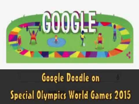 Google Doodle on Special Olympics World Games 2015 - YouTube