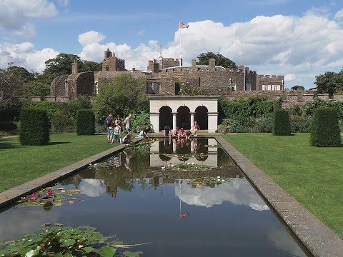 Walmer Castle England Gardens and Kitchen Garden Tour