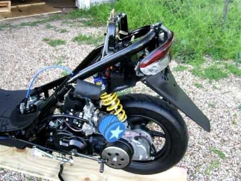 Honda スーパー Dio ZX AF28 transmission side