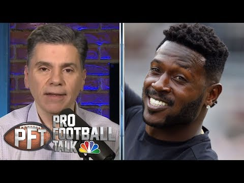 Interest in Antonio Brown not matching his effect as wide receiver | Pro Football Talk | NBC Sports
