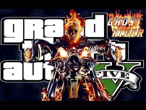 [ Grand Theft Auto V: MOD ] ПРИЗРАЧНЫЙ ГОНЩИК [PC-Ultra-1080p-60 FPS]