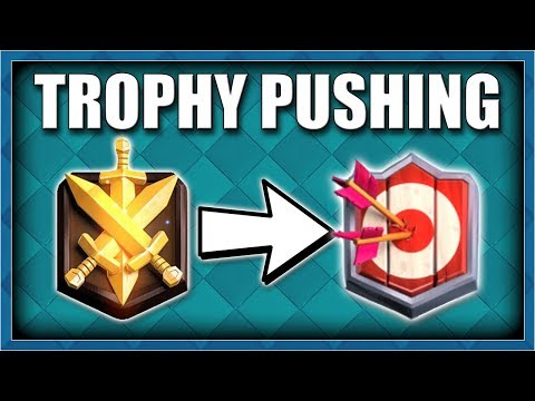 Trophy Pushing In Clash Royale | Clash Royale Live Stream