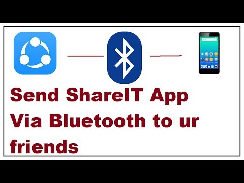 How To Send Share It App Via Bluetooth 2019
