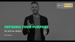 Defining Your Purpose on Social Media