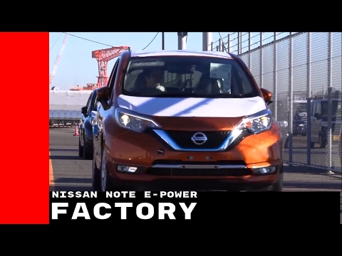2017 Nissan Note e Power Production Assembly Factory