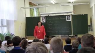 Агния Барто в школе Родники стихотворный урок 2016