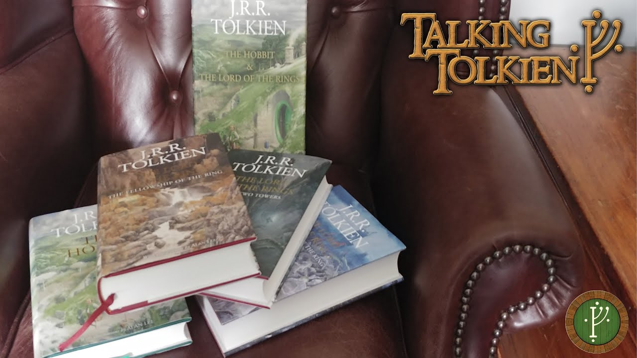 The Hobbit and Lord of the Rings Illustrated Edition