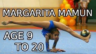 Margarita Mamun (age 9 to 20) – Gymnastics Through The Years