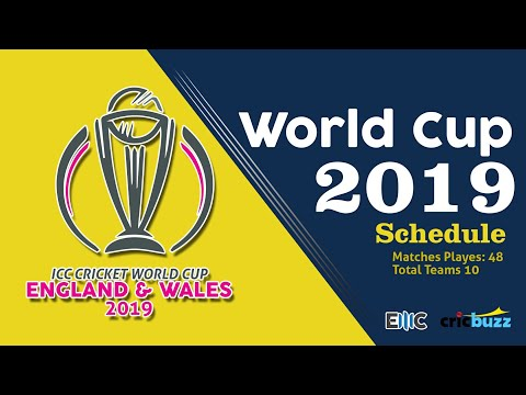 World Cup 2019  All Details 201720182019  ICC Cricket Event Schedule till World Cup 2019