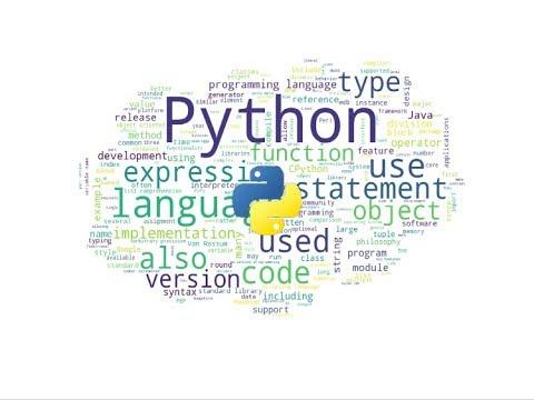WordCloud using Python