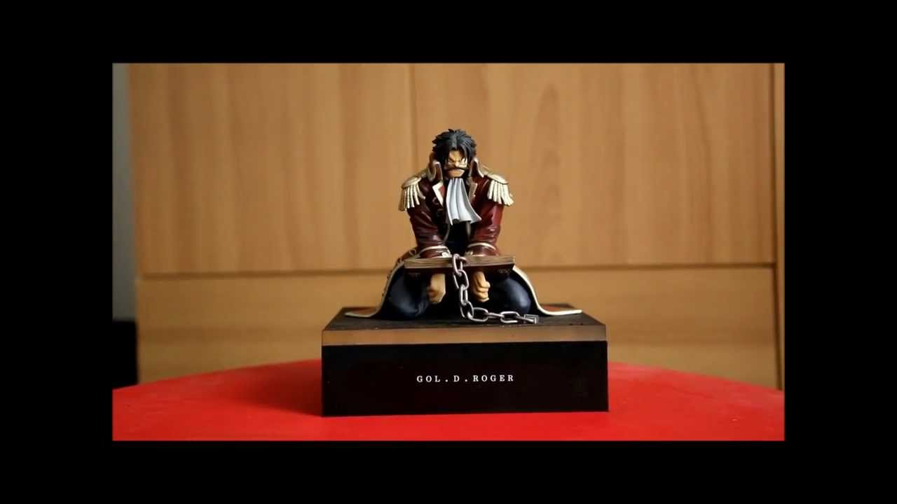 one piece gol d roger figure youtube